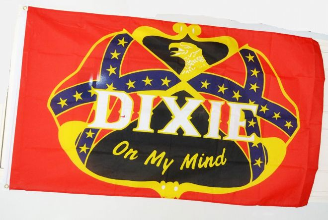 "Confederate Flag ""Dixie On My Mind"""